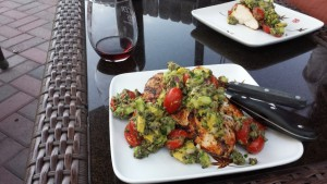 Spicy Grilled Chicken with Avocado Salsa